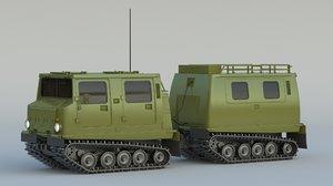 bandvagn 206 3D model