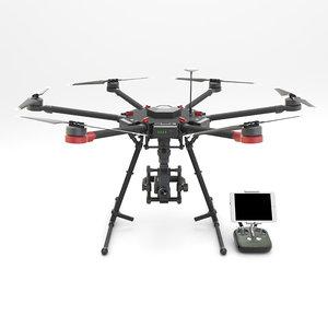 m600 drone controller model