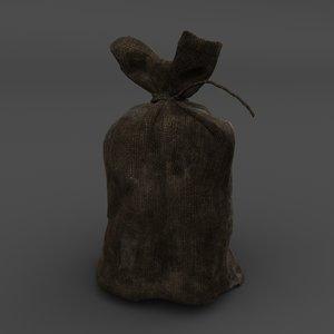 3D model pouch money