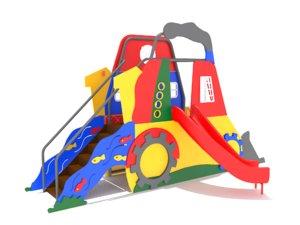 playground equipment 3D