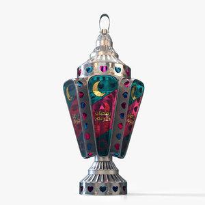 3D fanoos ramadan model