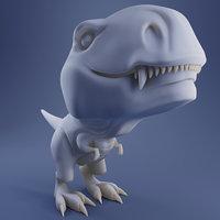 T-Rex Rexi - Printable