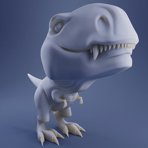 3D model t-rex rexi - print