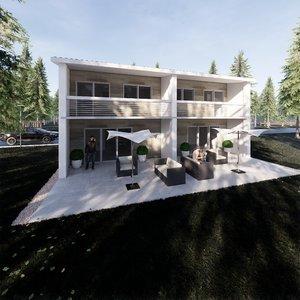 3D family house 2