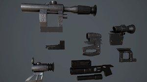 scope svd grenade 3D model