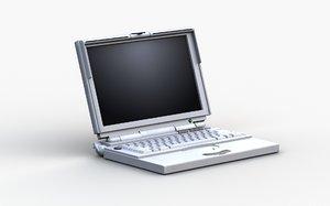 3D model apple powerbook