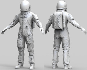 spacesuit nasa model