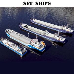 ship 4 tanker 3D model