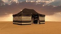 3D traditional tent model