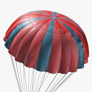 3D parachute marvelous designer