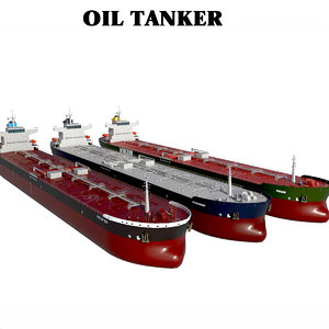 3D tanker oil panamax color