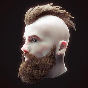 head hair kit 1 model