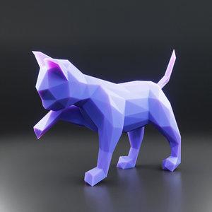 kitten 1 3D