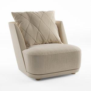 3D grace alberta armchair