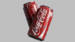 cola cans 3D model