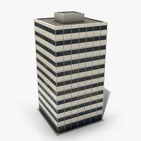 ready office building 3D model