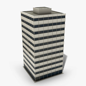 ready office building 3D model