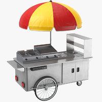 Food Cart Metal