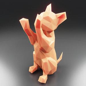 kitten 3 3D model