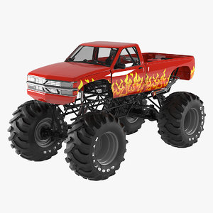 generic monster truck 3D