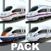 High Speed Train Pack - Siemens Velaro with Interior