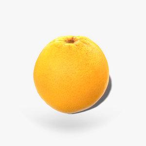 ready orange 3D model