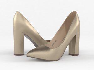 women shoes 3D model