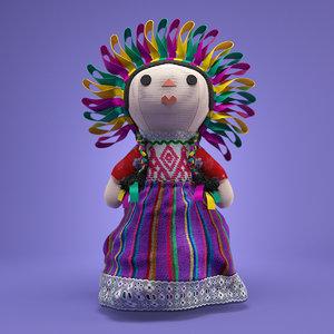 mexican rag doll 3D