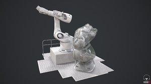 kuka robotics 3D model