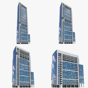 3D 340 park buildings