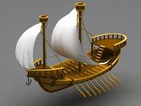 sailing ship model