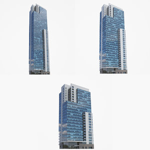 kilbourn tower buildings 3D model