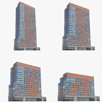 millennium tower residences buildings 3D