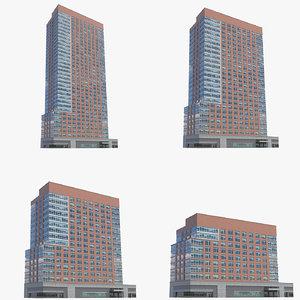 millennium tower residences buildings 3D