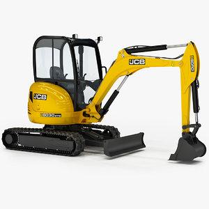 3D model excavator 8030 zts