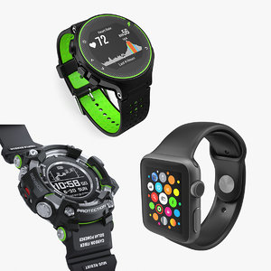 sport watches 3D model