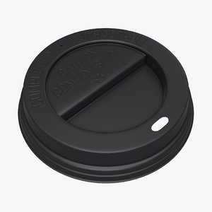 cup coffee plastic model