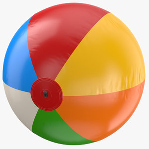 real beach ball 3D model