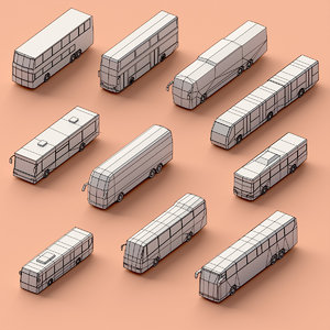 3D assembly buses