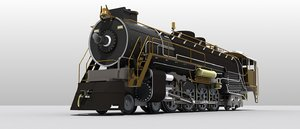 3D model northerns locomotive class