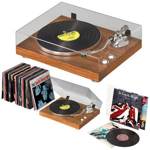 3D gramophone music