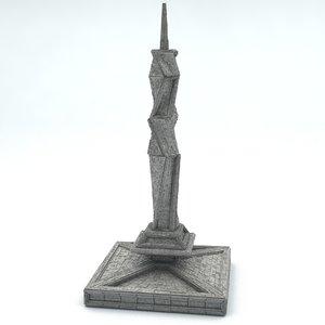 2 - 3D model