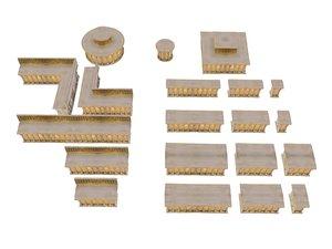 cathedral altar pack 3D model