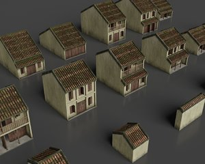 3D hoi ancient house