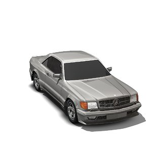 560 sec 3D model