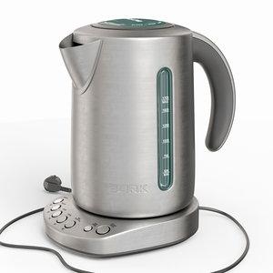 3D teapot tea
