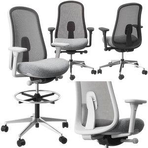 3D lino stool chair herman miller