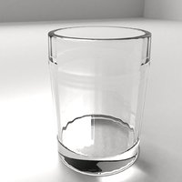 3D glass cup 14