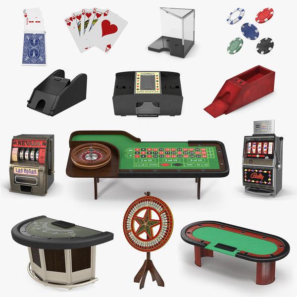 casino equipment 2 3D