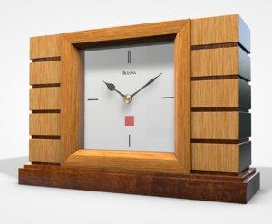 usonian clock model
